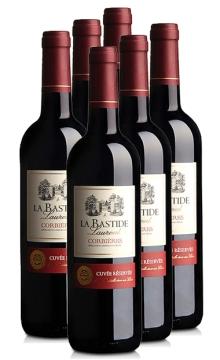 拉昂庄园干红葡萄酒(又名:拉昂城堡干红葡萄酒)-6支装