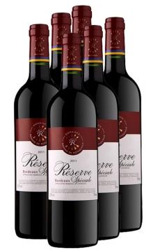 珍藏波尔多法定产区红葡萄酒(拉菲罗斯柴尔德集团荣誉出品)-6支装