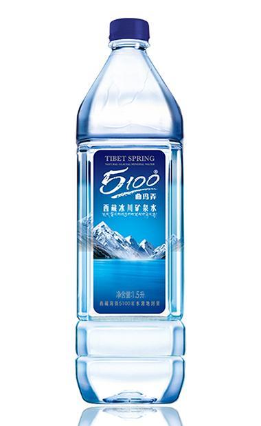 西藏冰川矿泉水1.5l/瓶