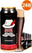 进口啤酒 德国啤酒格鲁特征服大麦黑啤酒 500ml*24