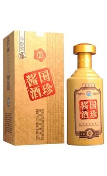 【作废】53°国珍酱酒10年500ml