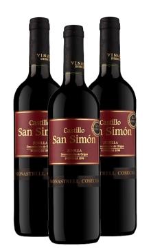 西莫干红葡萄酒-3支装