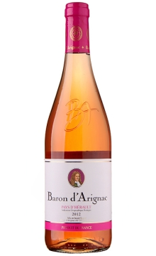 阿里那男爵桃红葡萄酒