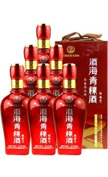 整箱6瓶装  青海互助 酒海青稞酒 格桑花42度500ml*6 原生态白酒