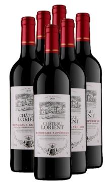 罗恩城堡超级波尔多干红葡萄酒-6支装
