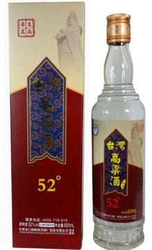 52°台湾高粱酒和平600ml