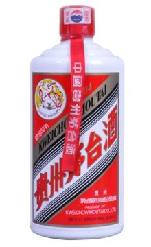 贵州茅台酒53度500ML飞天白皮2006 陈年老酒
