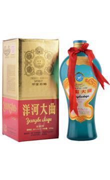 陈年老酒 洋河大曲(美女瓶)90年代早期 55度 500ml