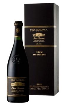 红蔓庄园黑牌特级珍藏葡萄酒