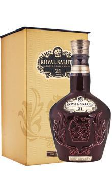皇家礼炮21年 苏格兰威士忌700ml洋酒3色随机发