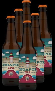 索格塔克鬼佬新加坡淡色艾尔啤酒355MLIPA*6 六支装