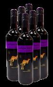 黄尾袋鼠西拉赤霞珠干红葡萄酒6支装