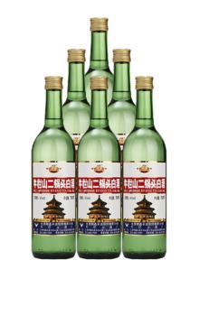 百年牛栏山二锅头56度750ml*6出口大二白酒