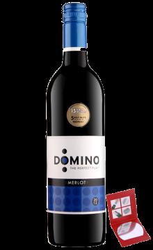 多米诺梅洛干红葡萄酒【直播专享】
