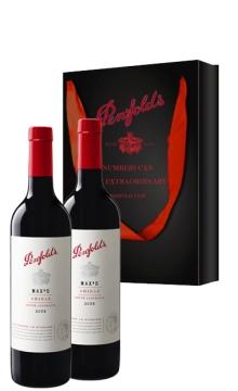 奔富麦克斯西拉干红葡萄酒-2支装(赠礼袋)