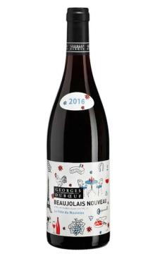 薄若萊新酒喬治杜博夫巴黎派對干紅葡萄酒2016