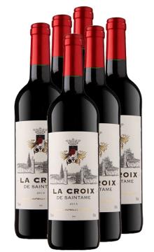 十字圣塔干红葡萄酒整箱6支装