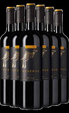 黄尾袋鼠签名版珍藏西拉红葡萄酒750ml*6  整箱6支装