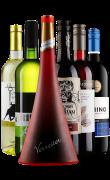 新西兰黑比诺领衔6国干红/干白葡萄酒组合6支装